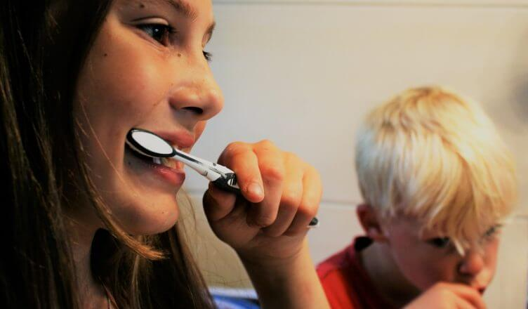 Eine natürliche Zahnpasta