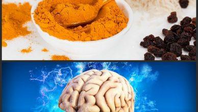 Kurkuma kann das Gehirn regenerieren