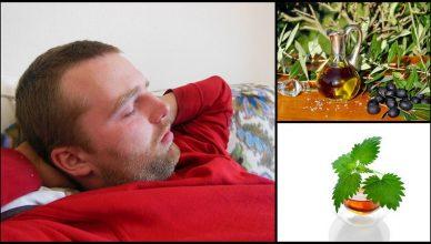10 Natürliche Hausmittel gegen Schnarchen