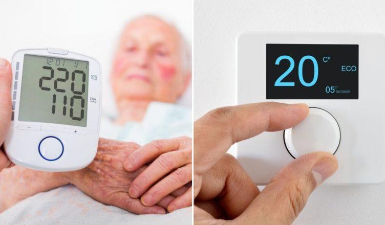 Hoher Blutdruck? Dreh das Thermostat auf! - Gesunde Wahrheit