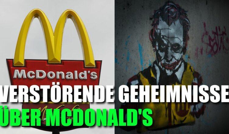 13 Verstörende Geheimnisse, die McDonald's vor der Öffentlichkeit verbirgt